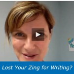 Lost Your Zing for Writing